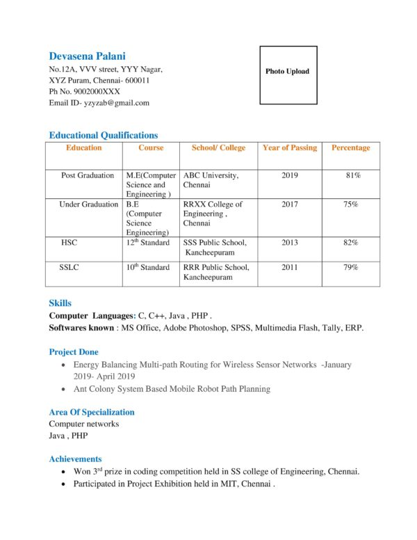 different types of resumes  resume formats  sample